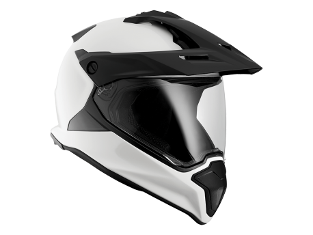 Casque BMW GS Blanc brillant