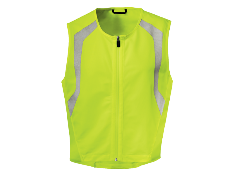 gilet de s curit jaune fluo highviz de bmw pour motard bmw motorrad. Black Bedroom Furniture Sets. Home Design Ideas